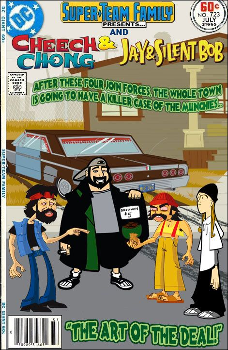 Super-Team Family: The Lost Issues!: Cheech & Chong And