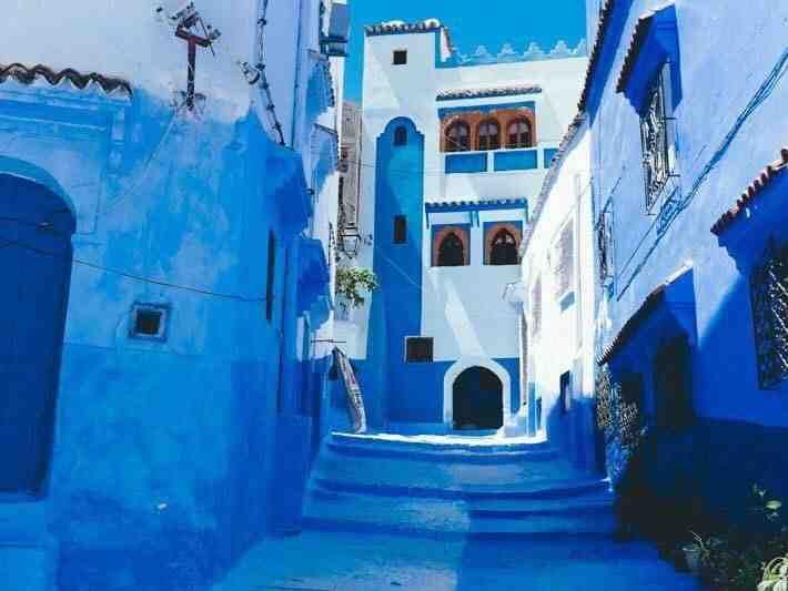 مدينة شفشاون جوهرة المغرب الزرقاء سياحة صورة ٥ Chefchaouen Blue City Morocco Blue City