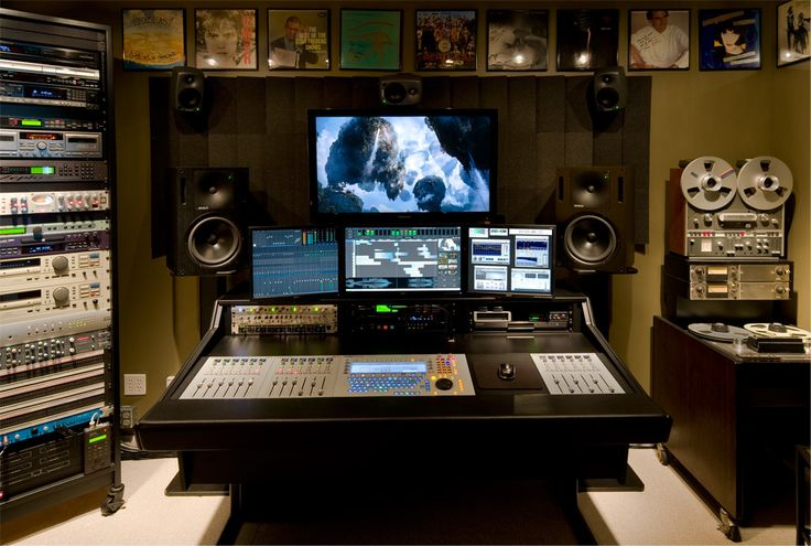 Production Consultant's Home Studio