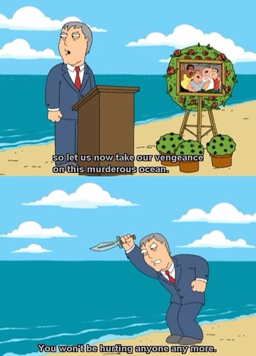 Family Guy - Mayor Adam West takes his vengance