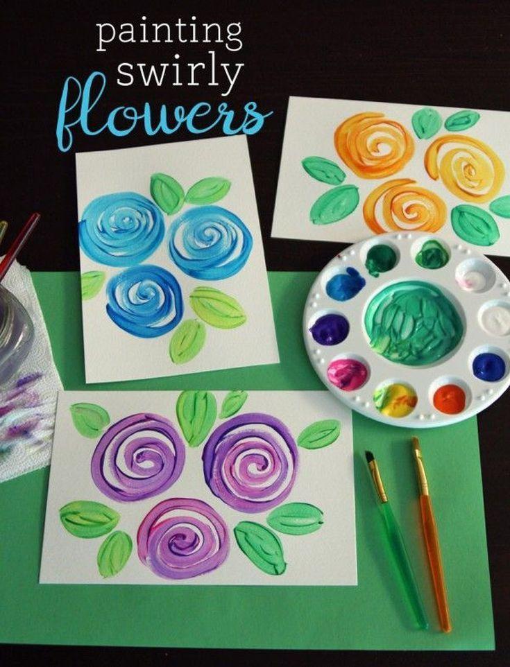 7 Diy Gifts For Your Neighbor Spring Theme Preschool Art