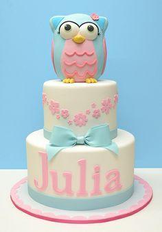 Owl Cake | best stuff