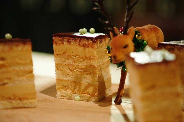 Een stukje zelfgemaakte javanais is de perfecte afsluiter van HetNationale Kerstmenu. Laat het smaken!