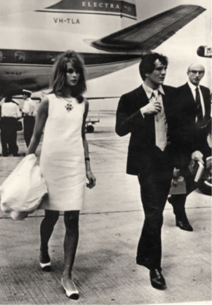 Jean Shrimpton And Terence Stamp