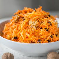 Russian Theme - Russian Carrot Salad