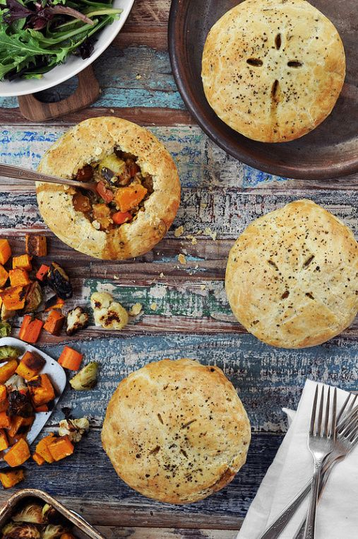 how to make vegetable pie at home