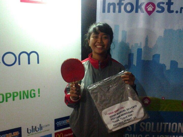 horeee.. menang hadiah dari Infokost... selamat yaa