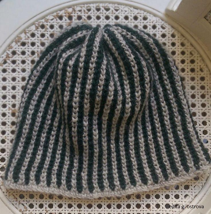 crochet-queen: Crochet Brioche Hat - free pattern