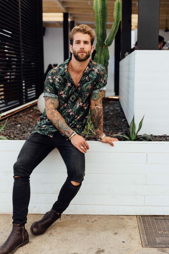 Macho Moda - Blog de Moda Masculina: Camisa Resort Masculina, Pra Inspirar e Onde Encontrar no Brasil?