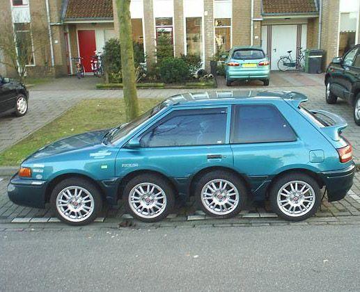 strange cars -
