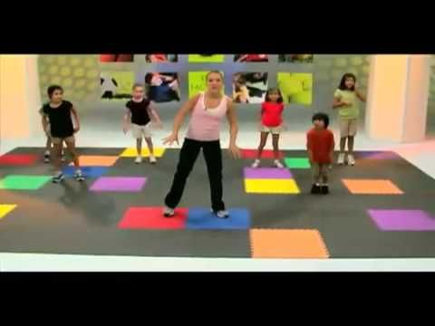Fit Factor Kids Excercize - Super cute and fun workout to do with the kids. Of course they want to do it over and over.