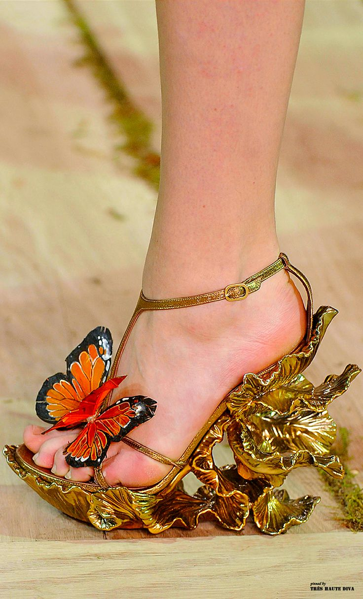 Alexander McQueen Butterfly Heels | Outside the (Shoe) Box ...