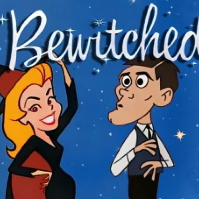 Bewitched. My favorite. Need to put the DVD collection on my christmas list.