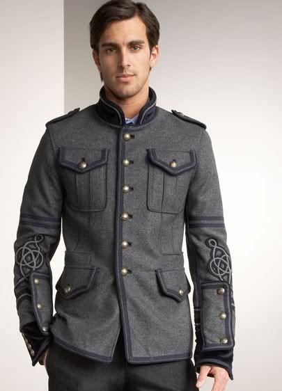 Military Style Coats For Men