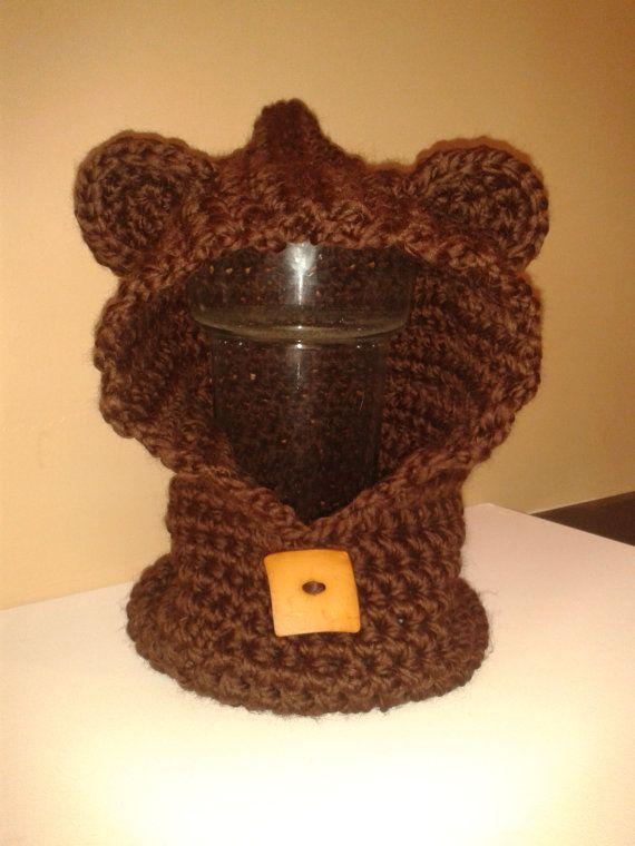 Baylie Bear Cowl/Hood