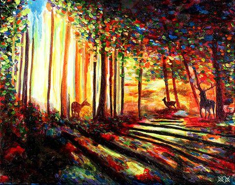 Morning Forest – Bramblitt