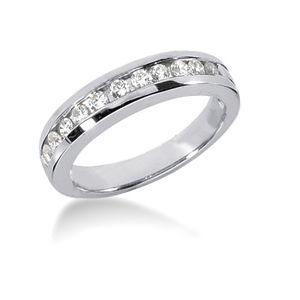 #argolla de matrimonio en #oro18k con #diamantes