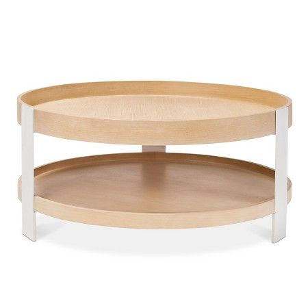 Coffee Table White Natural Modern By Dwell Magazine