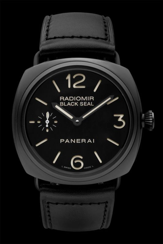Official Panerai RADIOMIR BLACK SEAL CERAMICA PAM00292 OP 6723 WRISTWATCH