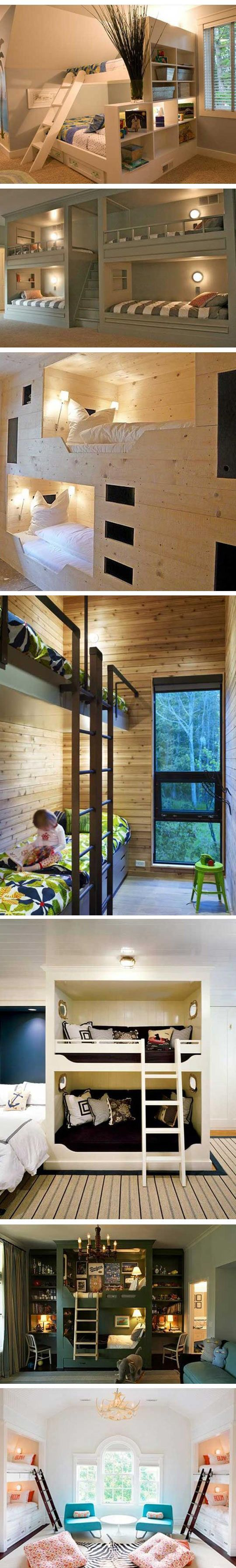 cool bunkbeds ◉ re-pinned by http://www.waterfront-properties.com/pbgoldmarshclub.php