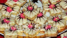 Kokosové mašličky s marmeládou