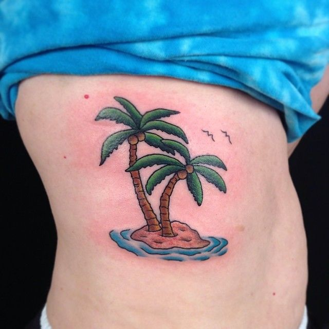 17 best ideas about palm tree tattoos on pinterest palm for Palmetto tree and moon tattoo