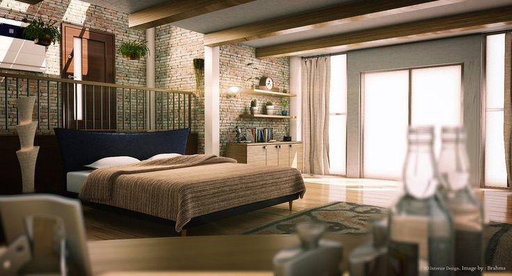 Int. Bedroom by aoikadaj
