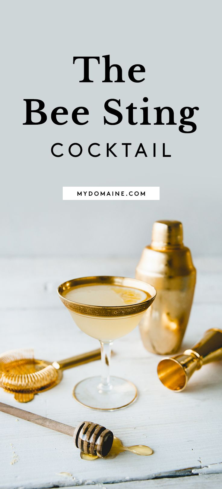 A honey and rum cocktail recipe