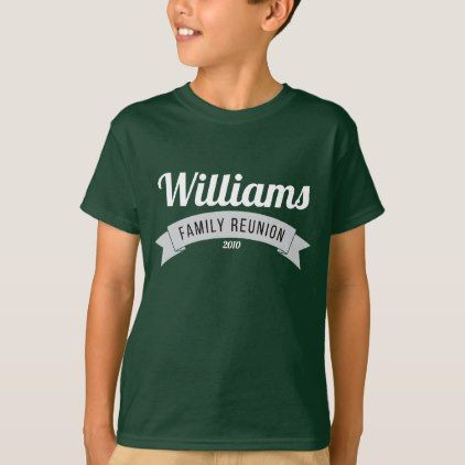 19c3deb7 Family reunion gathering love custom personalize T-Shirt - #customize & diy