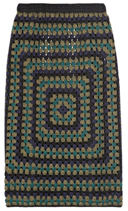 Thoroughly Modern Granny Square