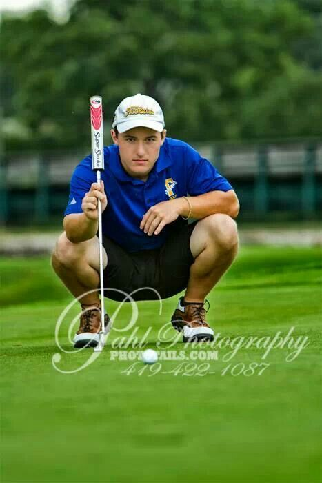 Senior Picture Ideas For Guys golf | Senior photo golf