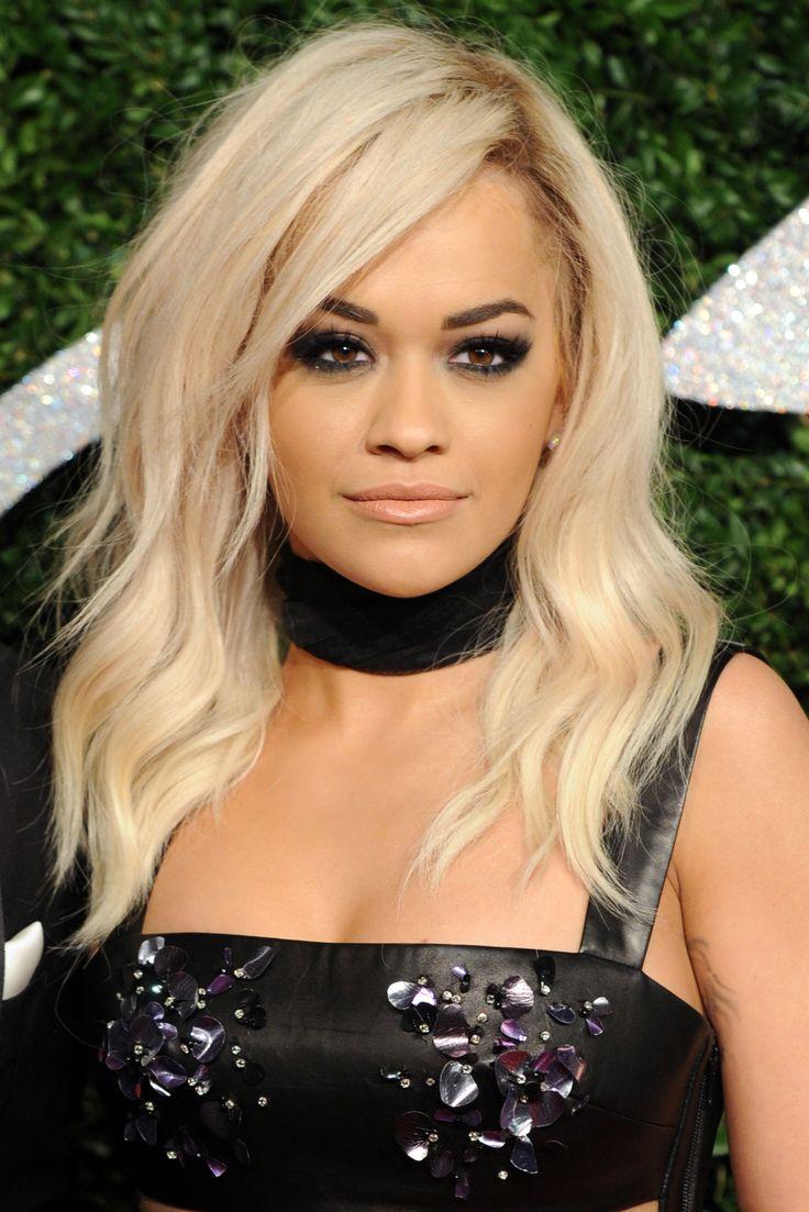Rita Ora at the 2014 British Fashion Awards. http://beautyeditor.ca/2014/12/03/british-fashion-awards-2014