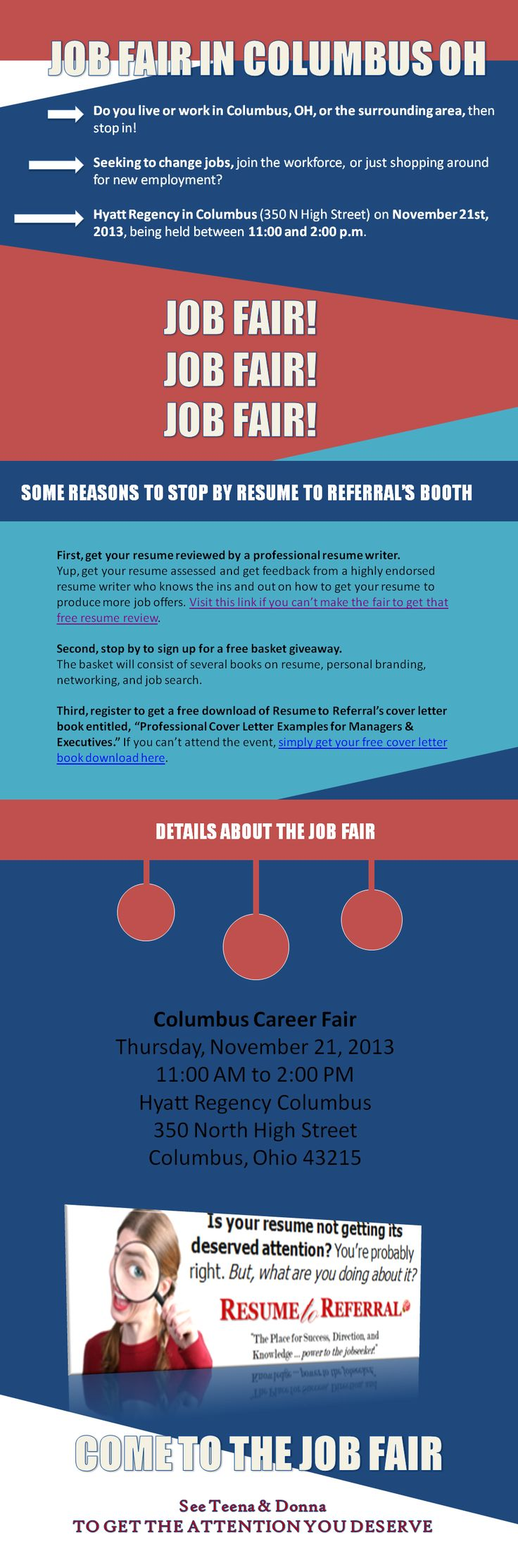 Resume Service Will Be @ Upcoming Job Fair In Columbus, OH