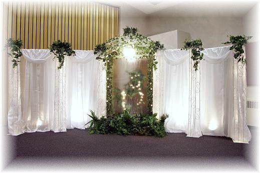 Pictures Of Wedding Pillars Decorated Wedding Decorations In Utah Wedding Pillars Wedding