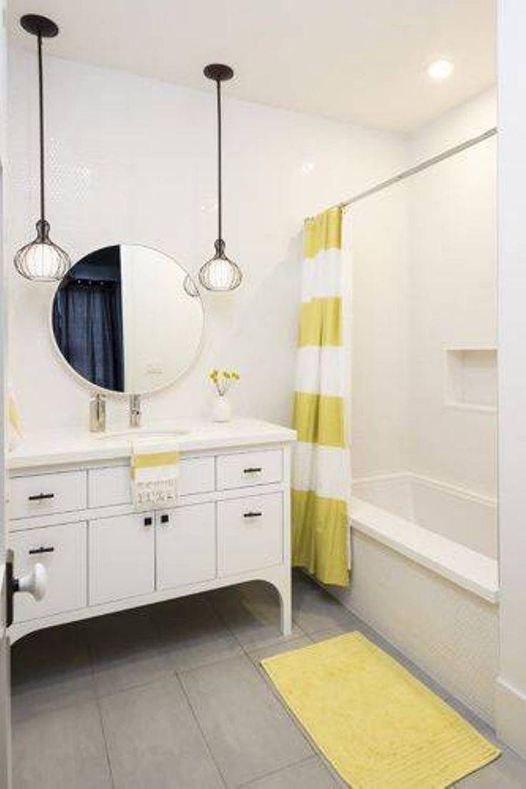 Best Teenage Bathroom Ideas Ideas On Pinterest Teenage Girl - Yellow bath rugs for bathroom decorating ideas