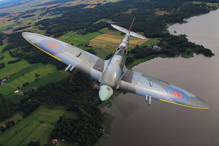 Supermarine Spitfire Mk. XVIII SM845 (GZ-J) Daniel Karlsson