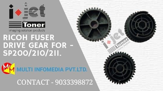 Ricoh Fuser Drive Gear For - SP 200/210/211    | Printer Gears