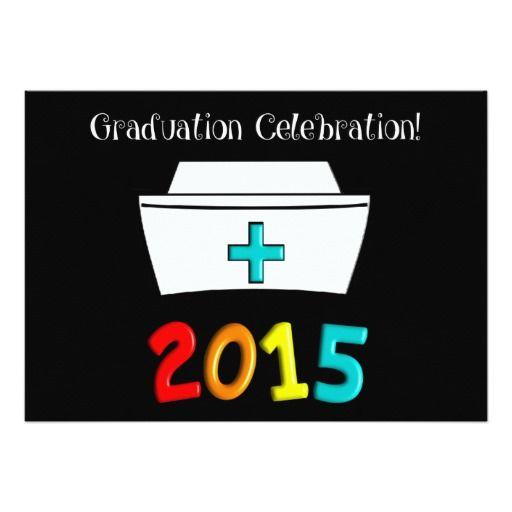 294 best Nurse Graduation Invitations images on Pinterest
