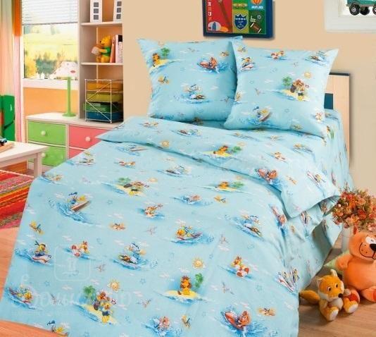 www.domilfo.ru +7(495)960-90-70. Постельное белье для новорожденных ВОДНЫЕ РАЗВЛЕЧЕНИЯ от производителя Cleo (Россия)