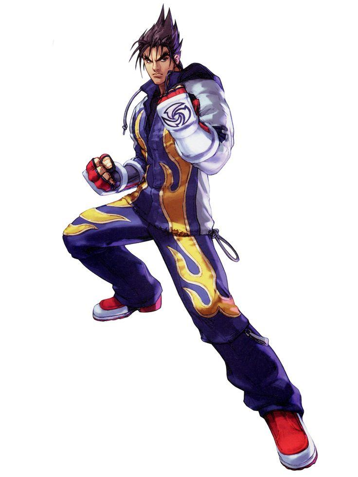 Jin Kazama - Namco X Capcom