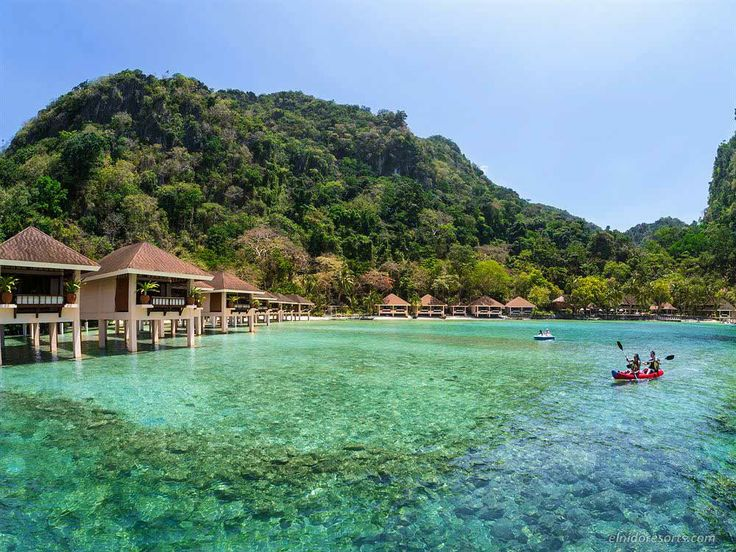 El nido resorts and hotels in legend island