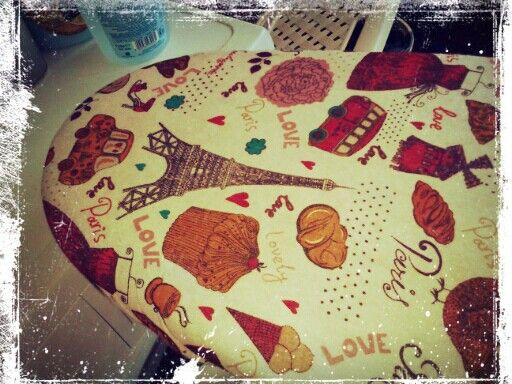 My Shabby chic - my cover ironing board (copri asse da stiro)