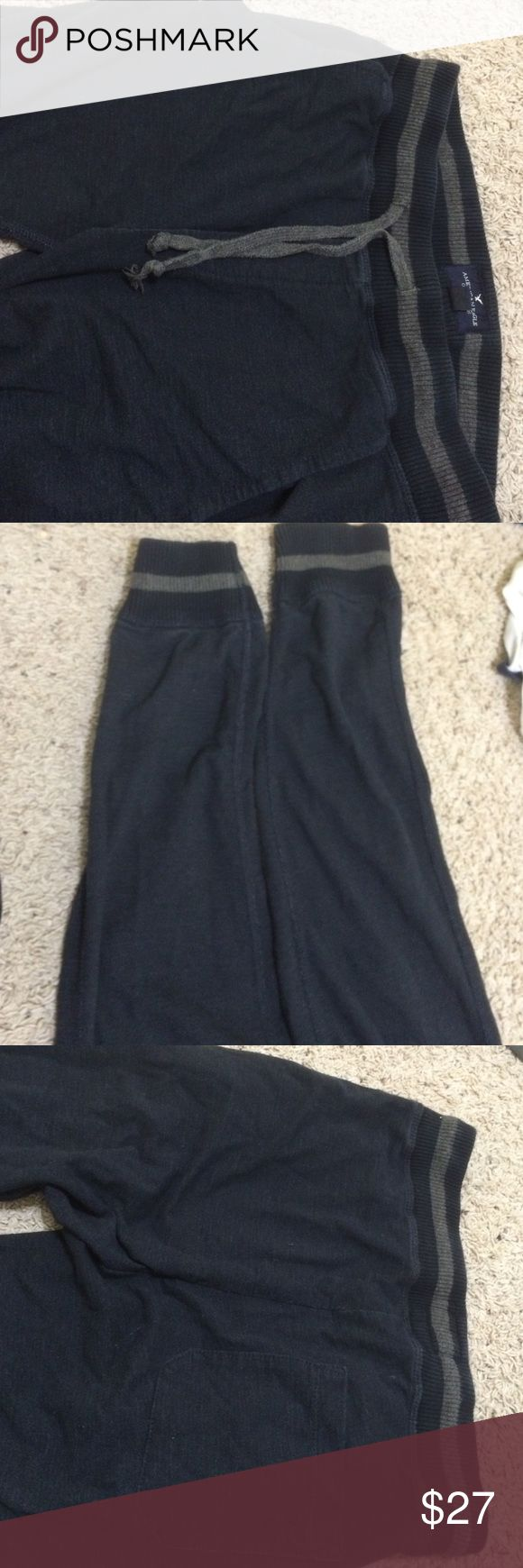 Mens fleece joggers Like new condition. Just try on one American Eagle Outfitters Pants Sweatpants & Joggers
