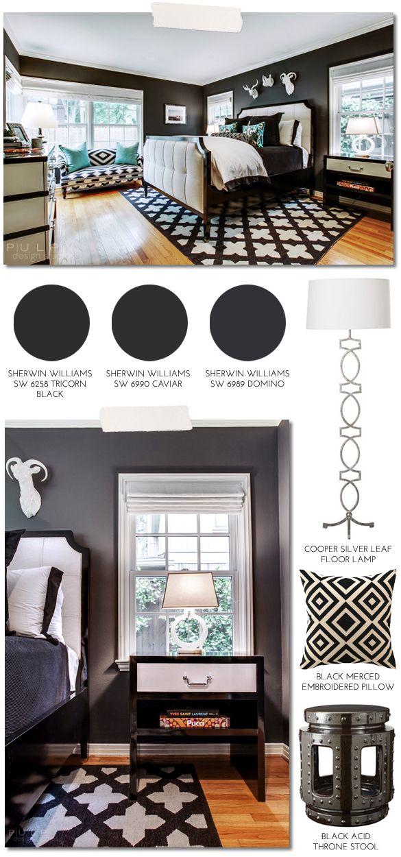 Pulp Design Studios' #HipMenagerie Guest Bedroom http://hellosplendor.com/2013/12/pulp-sourcebook-hipmenagerie-guest-bedroom.html