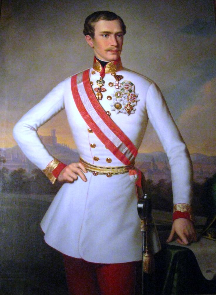 Kaiser Franz Josef, 1854