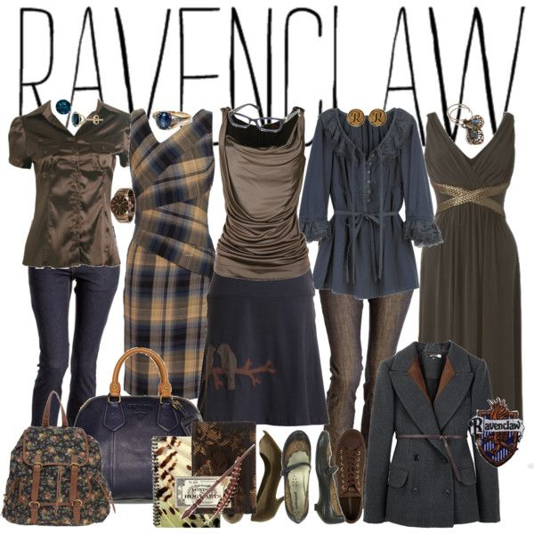 """RAVENCLAW"" by flamingpeach on Polyvorehe liked one three and five I love two for its shape"