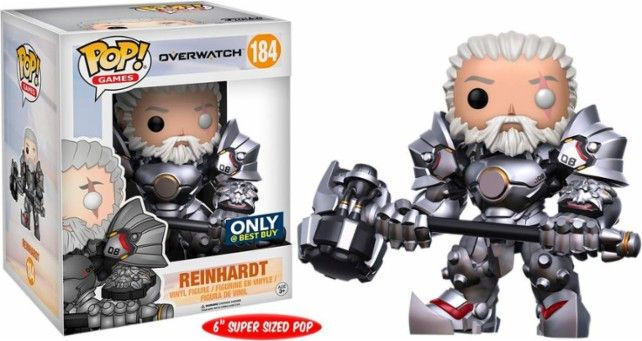 Oooh baby! Now available at Collekt; Overwatch - Reinh...  come and get it http://www.collekt.co.uk/products/overwatch-reinhardt-unmasked-184-preorder?utm_campaign=social_autopilot&utm_source=pin&utm_medium=pin #Funko #funkopop #Funkouk