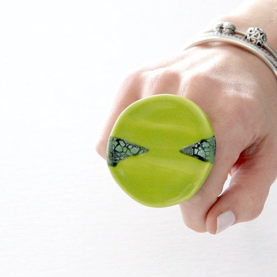 Anello in ceramica unico anello anello di istruzione  moda