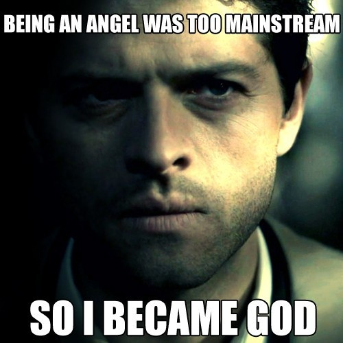 Castiel (Misha Collins) #Supernatural