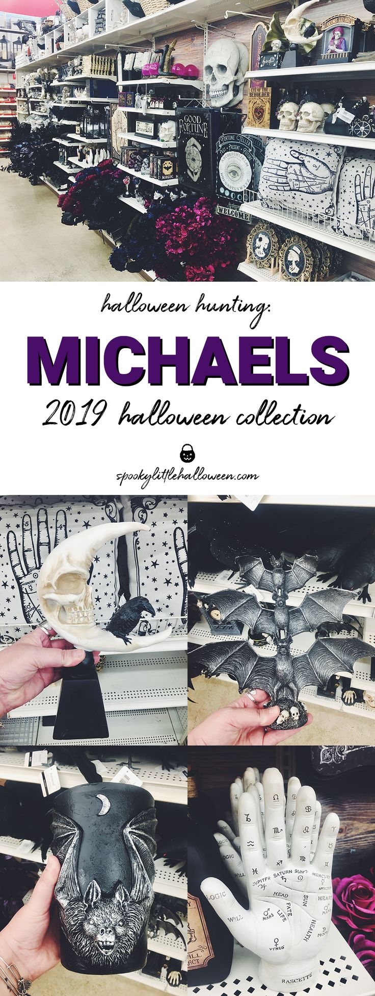 All of the gothic goodies you want from Michaels this yr